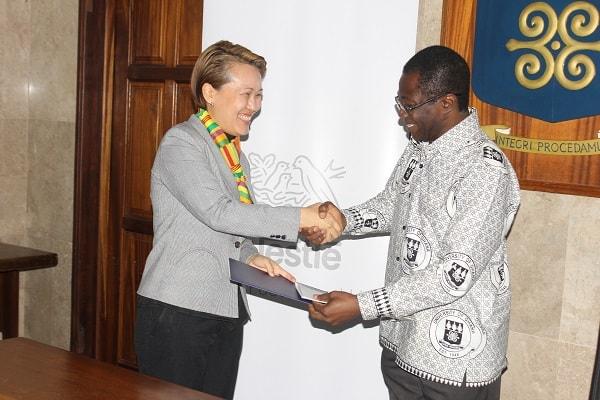 Nestlé Ghana signs MoU with University of Ghana for youth development