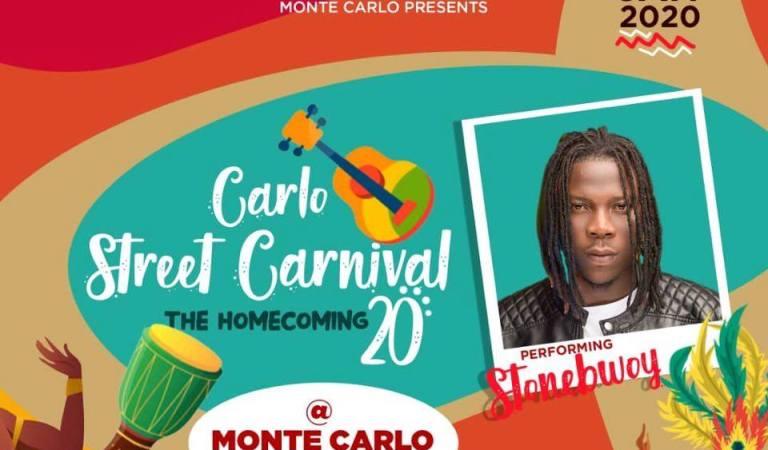 Stonebwoy Headlines Carlo Street Festival'20