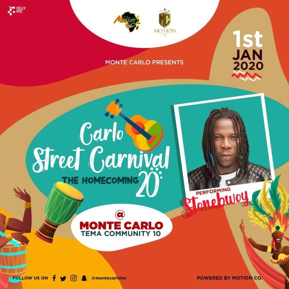 Stonebwoy Headlines Carlo Street Festival
