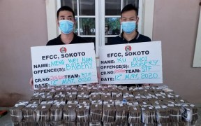 2 Chinese nationals Nigeria bribe