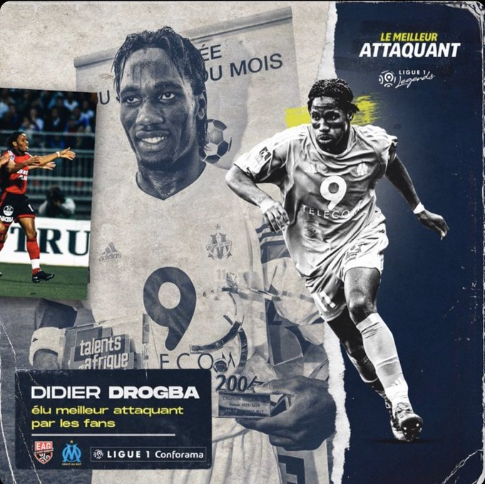 Drogba beats Ibrahimovic as best Ligue 1 striker