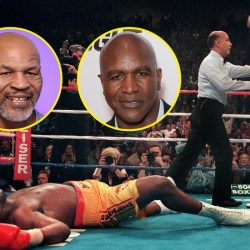 Evander Holyfield 3rd fight with Mike Tyson