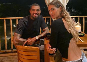 Kevin-Prince Boateng and Wife