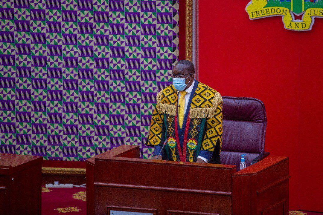 Alban Bagbin Speaker of Parliament