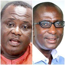 Joseph Osei Owusu and Fomena MP