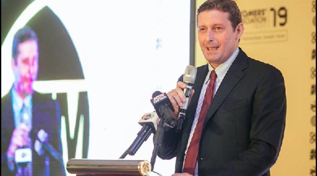 Stefano Gallini, Managing Director of GHACEM Heidelbergcement Group