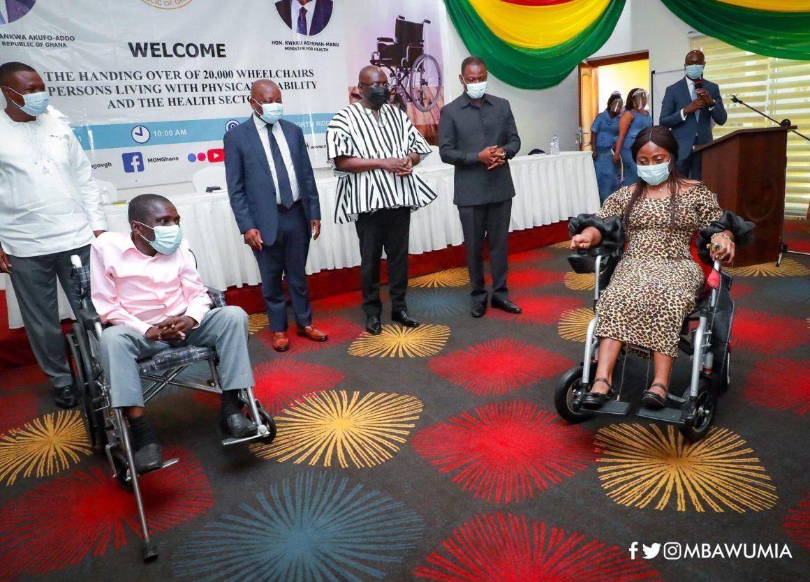 World Bank donates wheelchairs