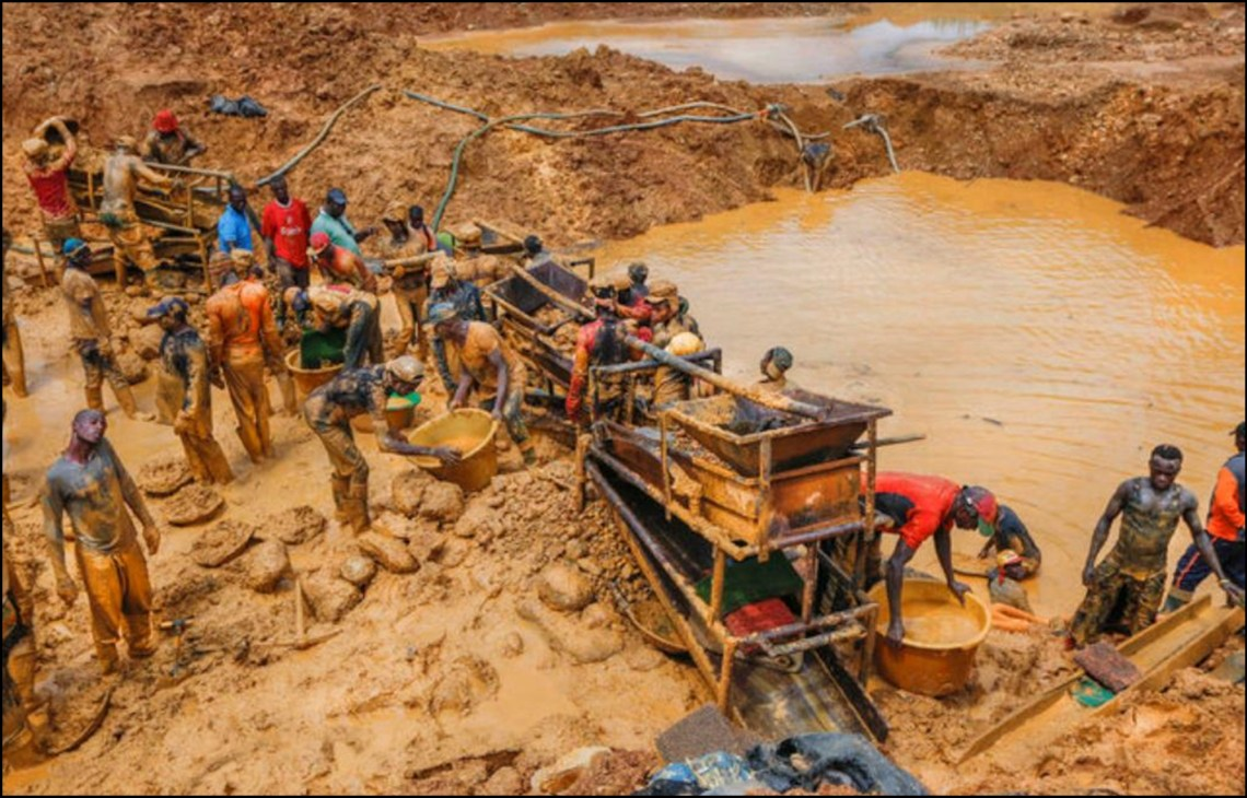 Galamsey in Ghana Xtra Gold Mining Limited