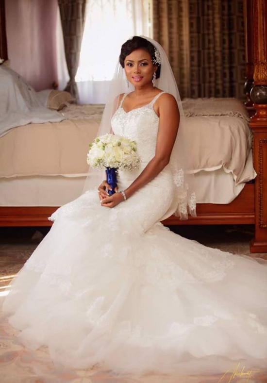 Actress cum TV presenter Chantelle Asante marries a pastor [Photos]