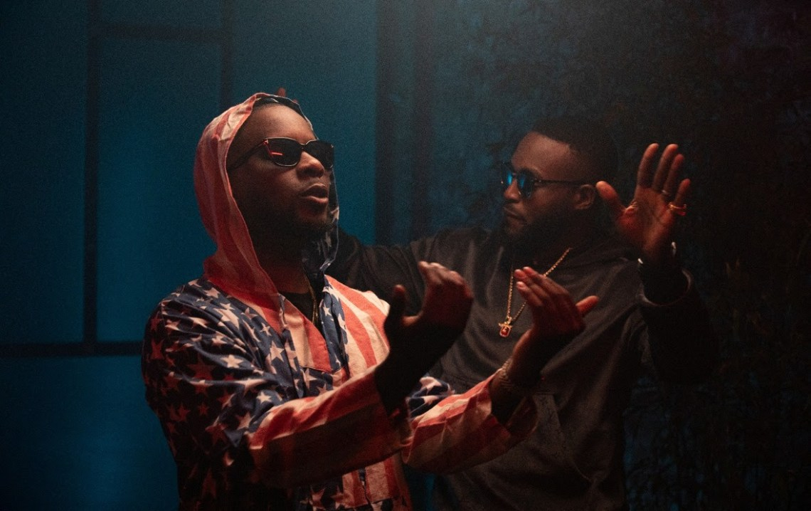 BTS pictures from DJ Neptune - My World featuring Maleek Berry
