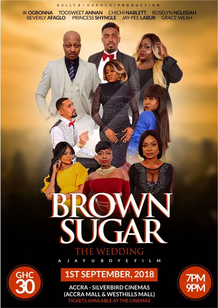 Brown Sugar movie stars Princess Shyngle, Toosweet Annan, Others