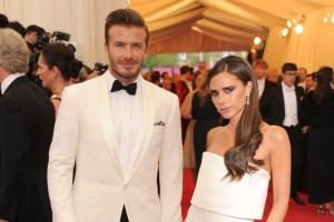 David Beckham admits marriage is 'hard work'
