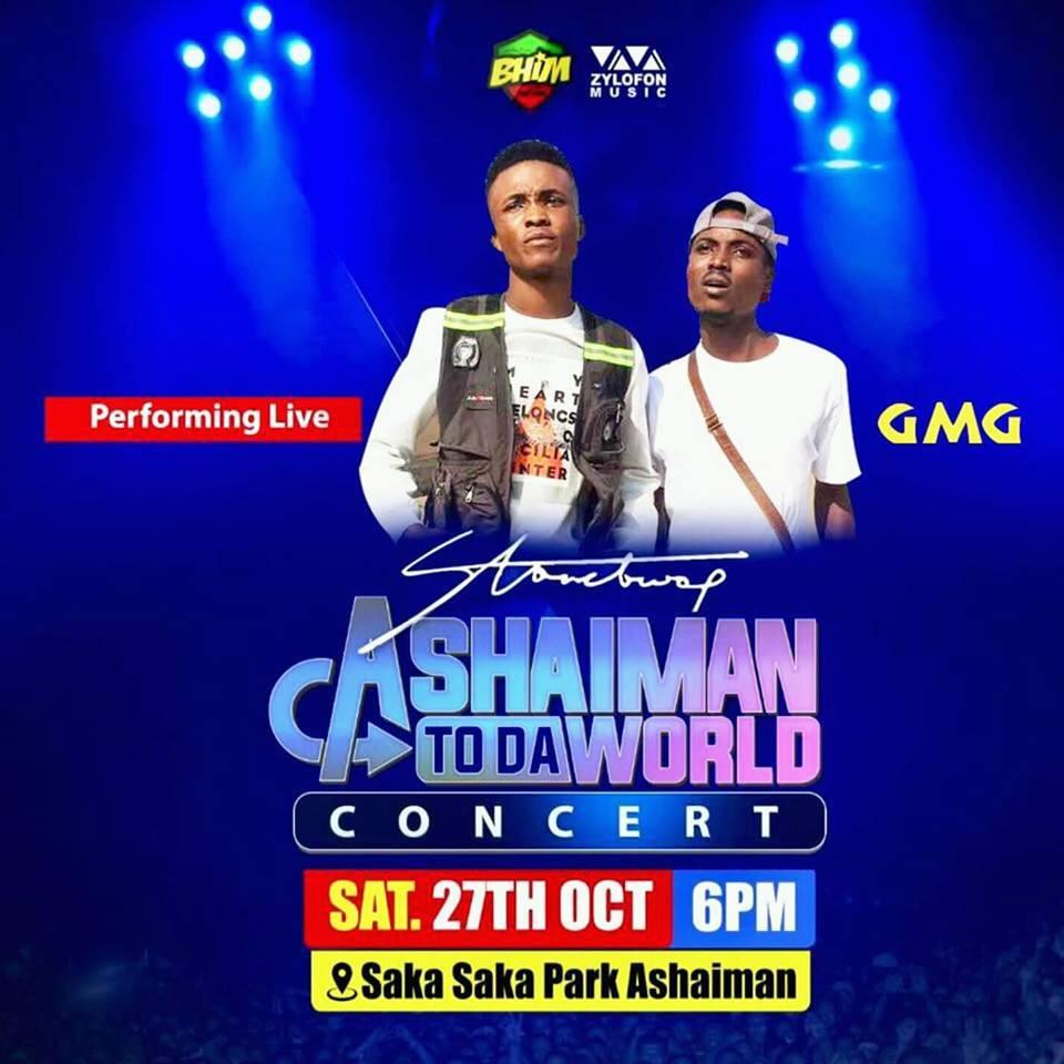 Ashaiman To Da World: Sarkodie, O5ive, Samini, thrill over 40 thousand music lovers