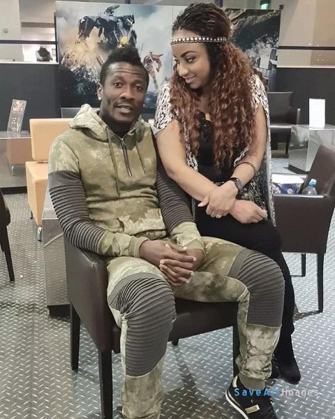 Asamoah Gyan files for divorce, allegedly dating John Dumelo's ex girlfriend