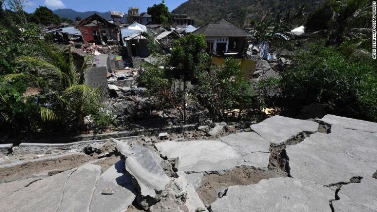 Indonesia earthquake: 91 dead as Hundreds await rescue