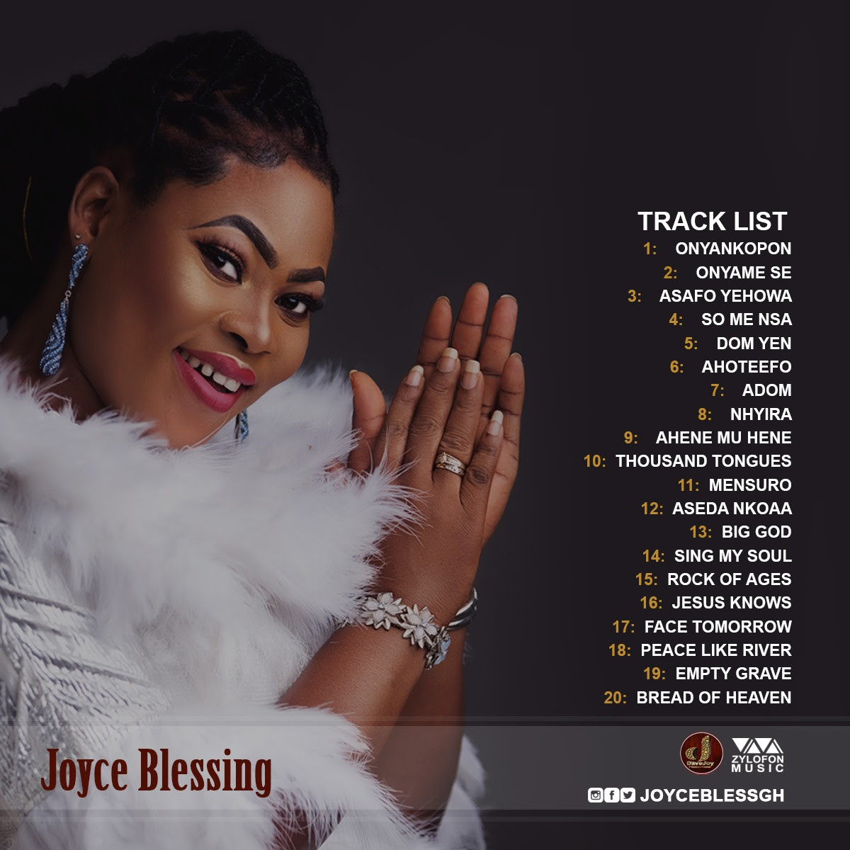 Joyce Blessing set to release 6th album, Blessings in Worship