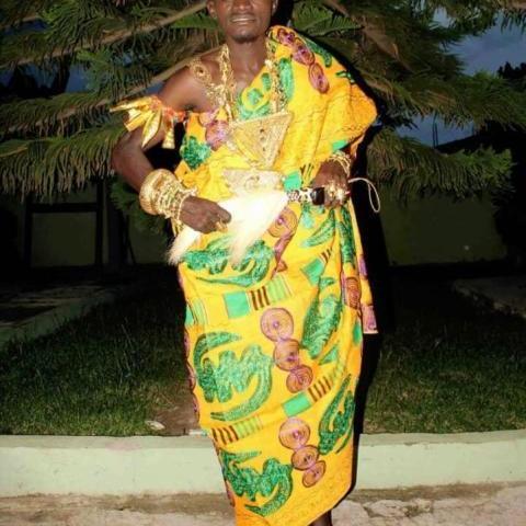 Lilwin Enstooled Nkosuohene of Duaponpo