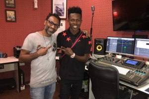 Strongman spotted in Dubai studios for music sessions
