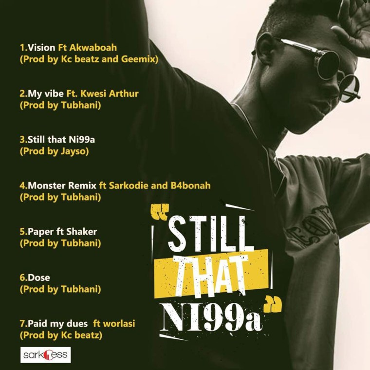 Strongman unveils artwork & tracklist for his forthcoming EP'Still That Nigga'