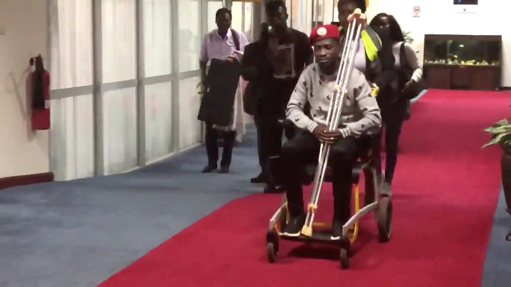 Uganda's pop star MP Bobi Wine cleared to fly to US for treatment