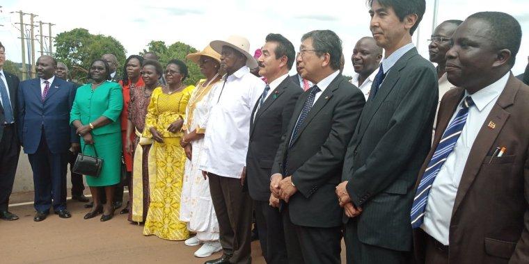 Uganda President commissions iconic bridge across the Nile