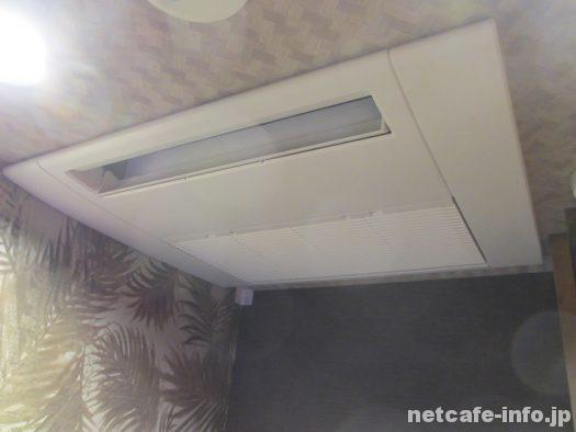 カスタマカフェ代々木店は全室に個別空調付き