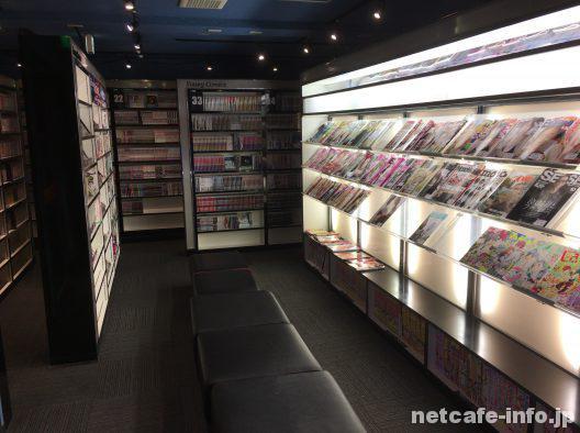 マンボー渋谷センター街店店漫画雑誌コーナー2