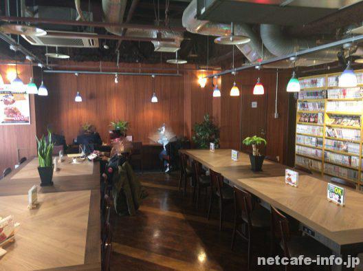 カフェ(オープンスペース)の様子