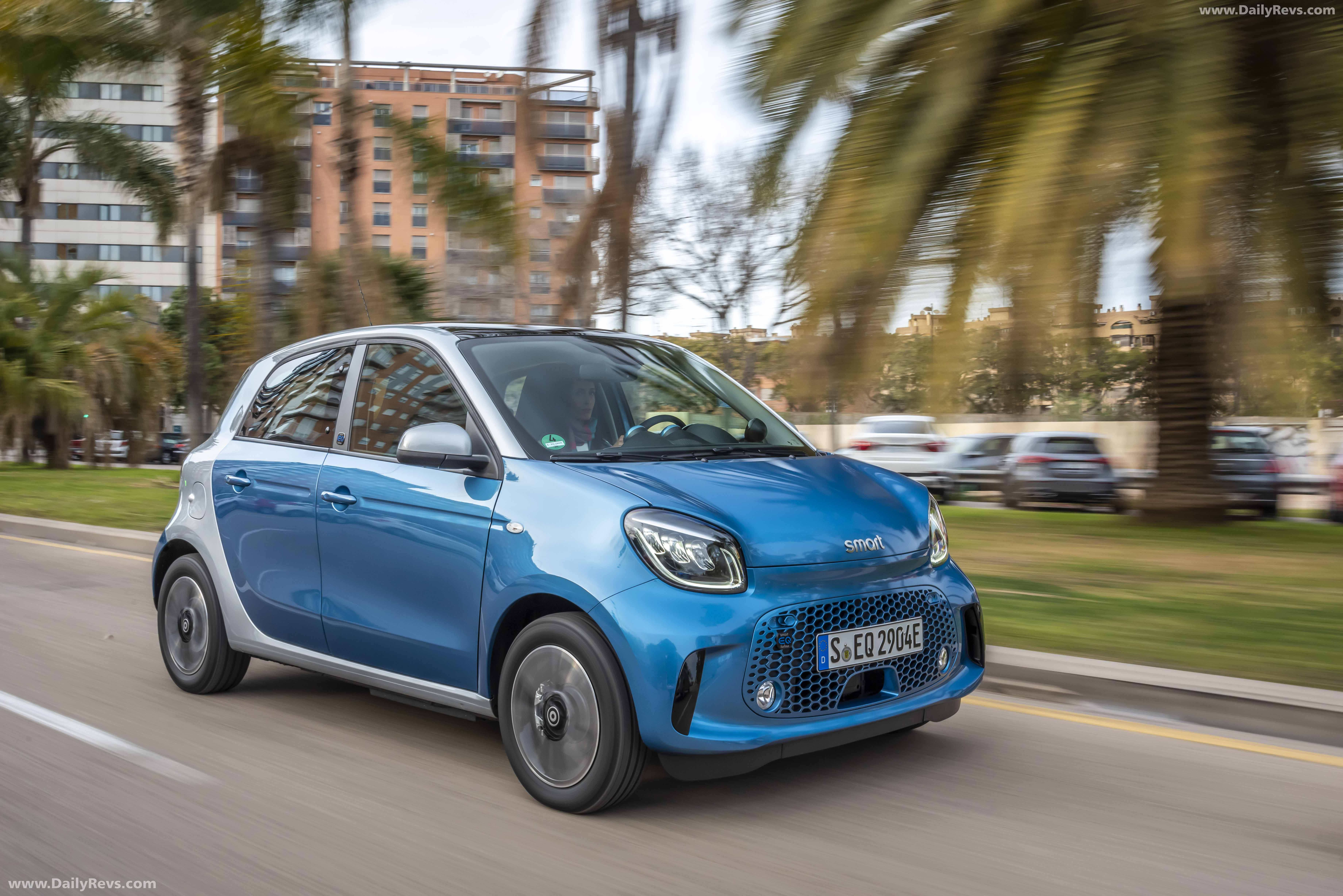 2020 Smart EQ forfour - HD Pictures. Videos. Specs & Information - Dailyrevs
