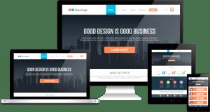 Professional websites need professional web design