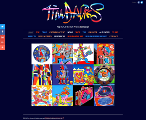 Tim Davies (portfolio: web design & web development)