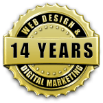 Over 14 years of professional website design & web development