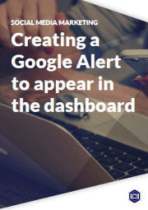 Creating Google Alerts in your SMM dashboard for social media content research
