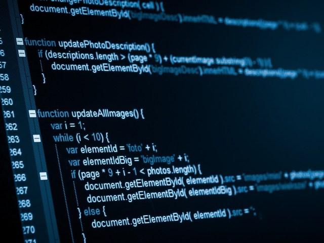 Web development involves custom coding