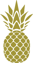 pineapple watercolor stencil vector easy transparent cartoon netclipart downloading thank