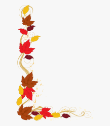 border fall borders leaves clipart thanksgiving clip leaf autumn development cliparts tree cartoon hd transparent netclipart clipground library pngfind