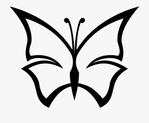 butterfly clipart cartoon clip drawings drawing simple abstract cliparts netclipart stretch caterpillar
