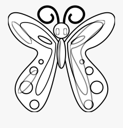 Simple Butterfly Black And White Butterfly Clip Art Black And White Clipart Butterfly Transparent Cartoon Free Cliparts & Silhouettes NetClipart