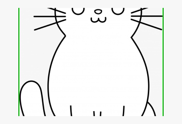 Cat Drawing Black White Easy Transparent Cartoon Free Cliparts & Silhouettes NetClipart