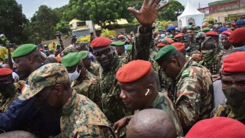 Le Colonel Doumbouya annonce l'ouverture des frontières avec le Sénégal