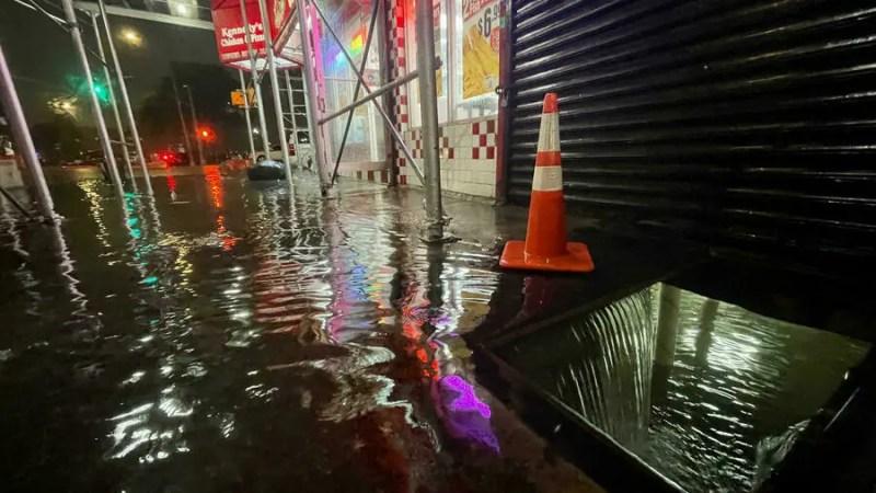 New-York sous les eaux, l'état d'urgence inondations déclaré  pour la première fois