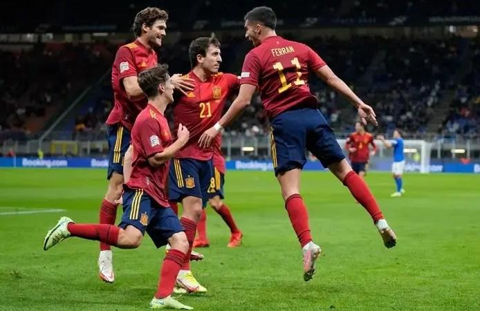 🇪🇸•🇮🇹 L'Espagne élimine l'Italie et accède à la finale de la Ligue des Nations