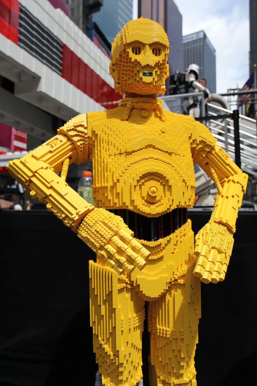 Worlds Biggest LEGO Set Stars Wars XWing Starfighter