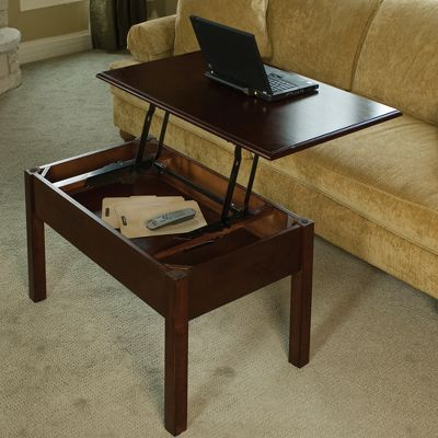 convertible coffee table turns into