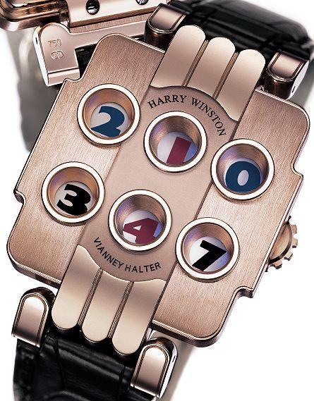 high complexity harry winston