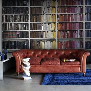 library perswall mr sofa wall shelves bookcases study books living ocd behind space furniture bookshelves placement cool coolthings putting wallpapers