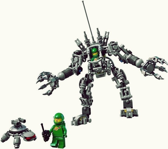 A LEGO Exo Suit For All Your Space Exploration Fantasies