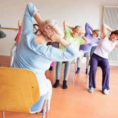 Yoga Chair Exercises For Seniors What Size Aeron Do I Have Sit In A And To Avoid Joint Pain Reveals Study