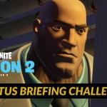【フォートナイト】ブルータスのブリーフィングチャレンジまとめ【Fortnite】