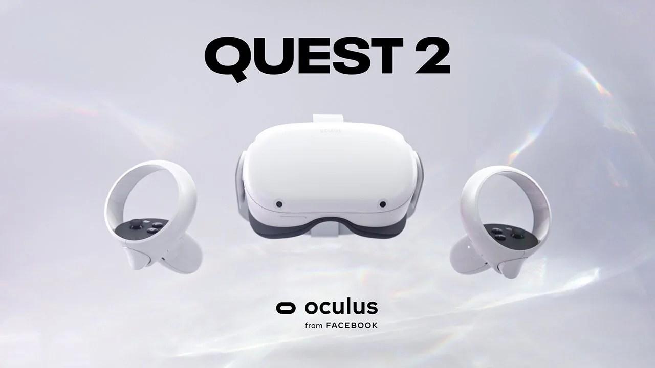 【News】VRヘッドセット-Oculus Quest 2 128GBが発売開始。前ロット64GBと同価格で容量は倍増のお得な新モデル